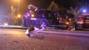 Accident cumplit în Timişoara.