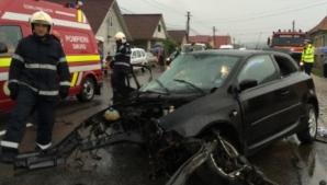 Accident teribil în Cluj.