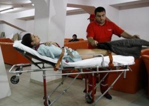 Alina Puşcaş, de urgenţă la spital