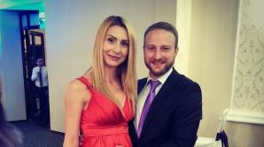 Andrei Tinu și soția