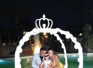 Antonia şi Vincenzo, la ziua fiicei lor