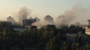 Bombardament la Doneţk