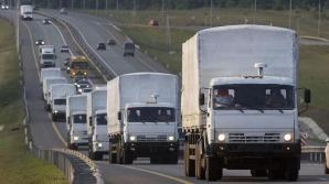 Convoiul umanitar trimis de Kiev a ajuns în estul Ucrainei