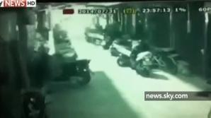 Explozie puternică pe o stadă din Taiwan