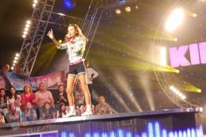 Daria, fiica lui Cătălin Crişan, participă la un show muzical pentru tinerele talente