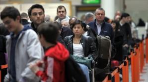 Românii şi bulgarii nu s-au înghesuit să meargă în Marea Britanie