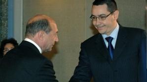 Traian Băsescu şi Victor Ponta
