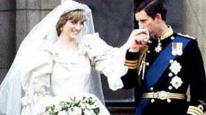 Bucată din tortul de la nunta prințesei Diana, vândută la licitaţie