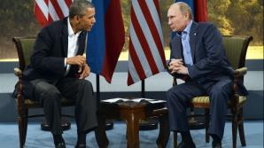 Vladimir Putin i-a spus lui Barack Obama că sancțiunile impuse Moscovei sunt 'contraproductive'