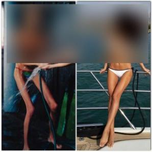 Ramona Gabor vrea să convingă că nu e anorexică folosind o fotografie şoc
