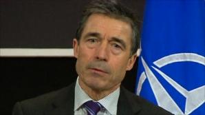 Rasmussen: Există o ''probabilitate ridicată'' ca Rusia să intervină militar în estul Ucrainei