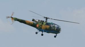 Incident grav cu un elicopter la baza Boboc. Trei persoane au fost implicate