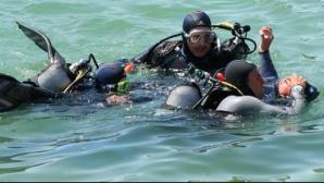 S-a înecat sub privirile copiilor săi: Un bărbat este căutat de scafandri şi cu elicopterul SMURD