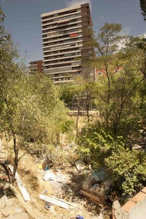 Tabără ilegală de romi, lângă Guvernul spaniol