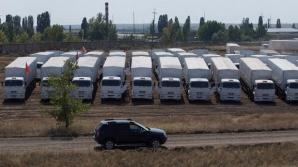 Ucraina a recunoscut ca ajutor umanitar încărcătura convoiului din Rusia