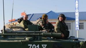 Vehicule militare ruse, la frontiera ucraineană