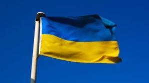 Drapelul Ucrainei a fost arborat în centrul Moscovei
