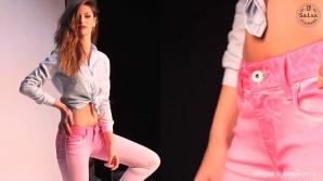 Au fost creati jeansii parfumati