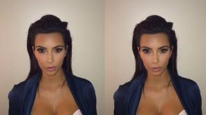 Kim Kardashian şi noua sa fotografie din paşaport