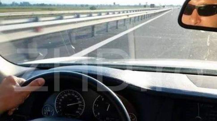Interlop celebru, viteză record pe autostradă.