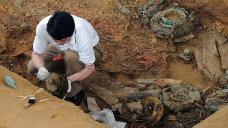 Mausoleu regal vechi de 2.100 de ani, descoperit în China