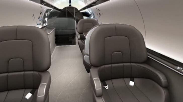 Avion de pasageri fără ferestre, un nou design propus de francezi