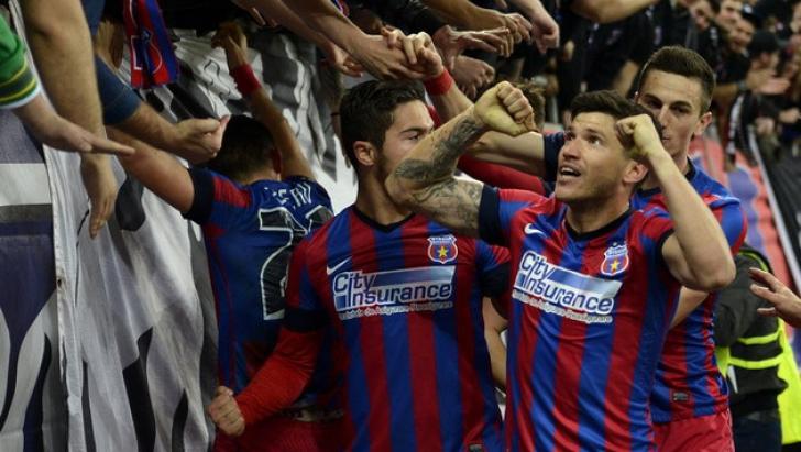 Steaua a contribuit cel mai mult la coeficientul UEFA