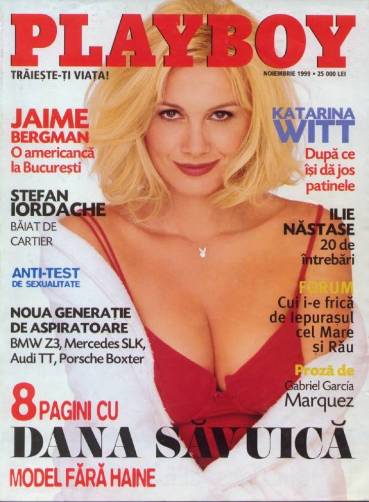 Dana Săvuică, fostă vedetă Playboy