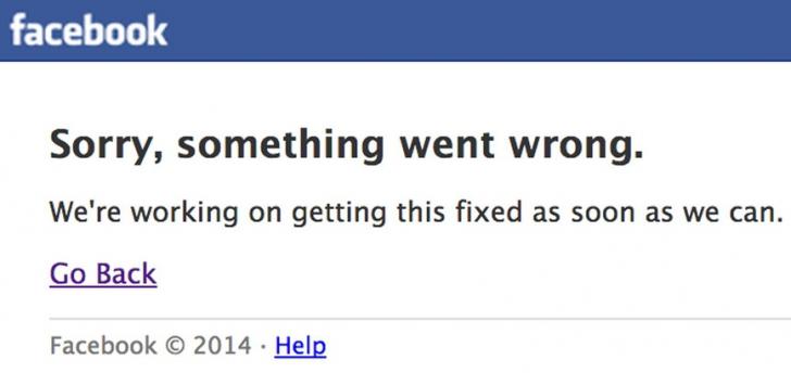 Facebook a căzut vineri seară