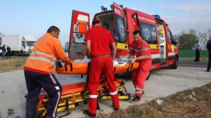 Accident cumplit în Arad.