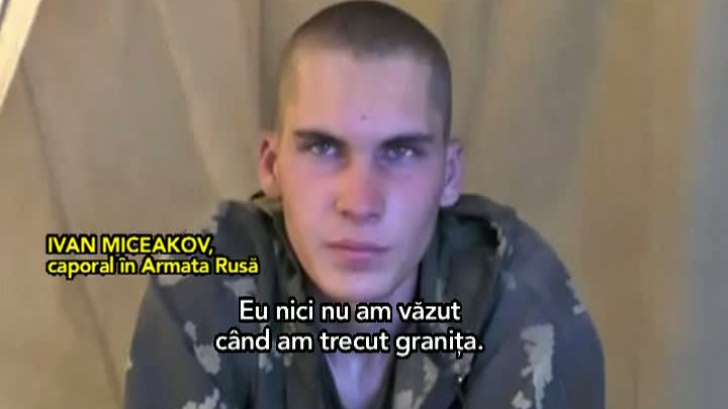 Militari ruşi, capturaţi în UCraina