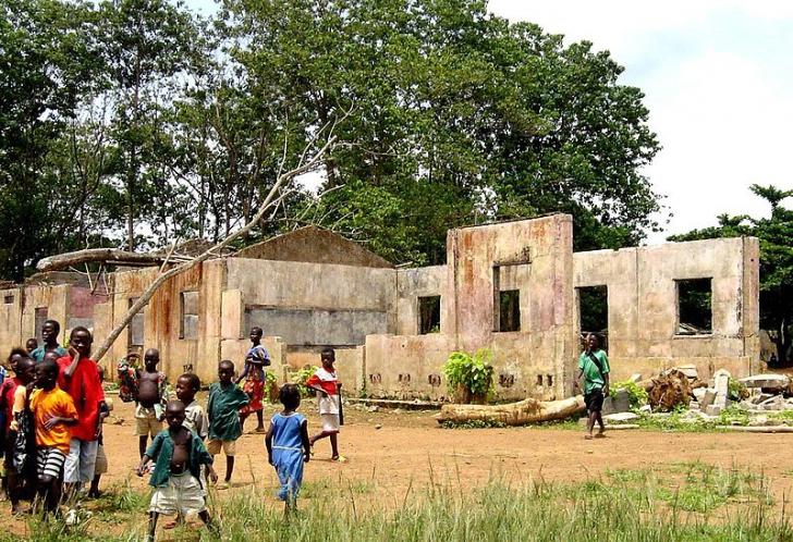 Sierra Leone, în război civil