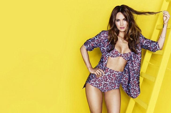 Secretul siluetei lui Megan Fox
