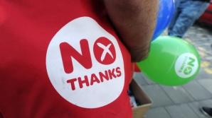 Opozanţii independenţei avertizează că separarea de Regatul Unit va avea grave consecinţe economice