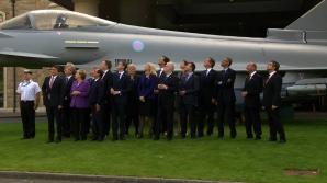 Şefii statelor NATO, la reuniunea din Ţara Galilor, Marea Britanie