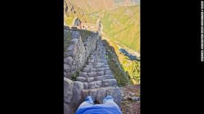 <p>Cele mai periculoase scări din lume - pe primul loc cele din China şi Cambodgia</p>
