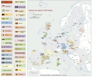 Cum arată HARTA EUROPEI dacă mişcările naţionaliste obţin INDEPENDENŢA
