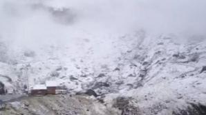 Prima zăpadă a sezonului, la Bâlea Lac