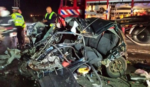 Accident îngrozitor pe DN1