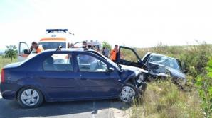 Accident groaznic, cu un mort şi trei răniţi