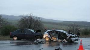 Accident teribil pe DN 1, în care și-au pierdut viața 6 persoane