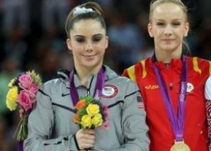 """Americanca McKayla Maroney a luat locul doi la JO de la Londra, din 2012, când Sandra Izbaşa a """"ieşit"""" campioană olimpică"""