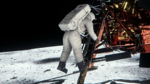 Aselenizarea lui Buzz Aldrin.