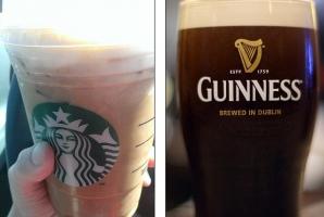 Nu ai mai pomenit aşa ceva: bere sau cafea?
