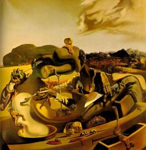 Războiul civil spaniol în suprarealism: Salvador Dali