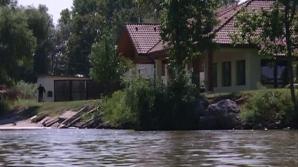 Lac amenajat ilegal în Delta Dunării