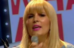 Elena Udrea a cântat într-o emisiune TV