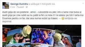Mesaj tulburător, postat pe Facebook, al tânărului care a provocat accidentul