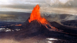Un vulcan din Hawaii a erupt