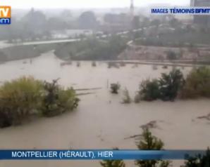 Inundaţii teribile în Franţa